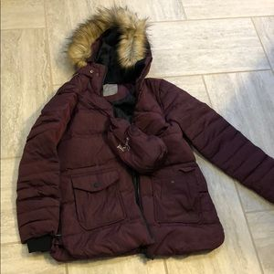 Thyme Maternity Winter Jacket with extended panel